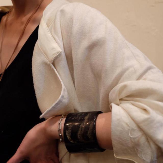 jonnlynx(ジョンリンクス)の【希少品】フミカウチダ バングル レディースのアクセサリー(ブレスレット/バングル)の商品写真