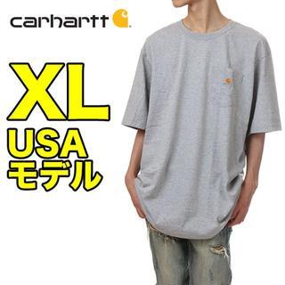 カーハート(carhartt)の【新品】カーハート ポケット Tシャツ XL グレー USAモデル(Tシャツ/カットソー(半袖/袖なし))