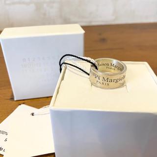 マルタンマルジェラ(Maison Martin Margiela)の新品 100%本物 Maison Margiela 【S】リング  マルジェラ(リング(指輪))