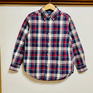 Ralph Lauren - ラルフローレン 長袖シャツ 120 ボタンダウンシャツ チェックシャツ