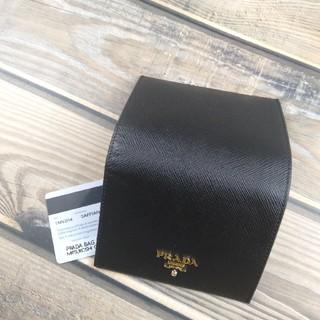 PRADA - プラダ型番1MV204二つ折り折り財布ブラック