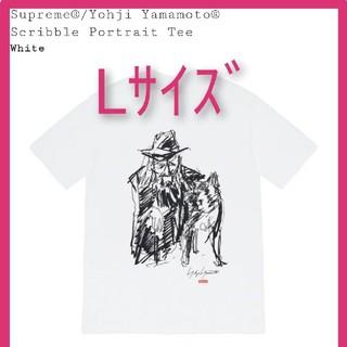 シュプリーム(Supreme)のSupreme Yohji Yamamoto Scribble Portrait(Tシャツ/カットソー(半袖/袖なし))