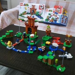 Lego - LEGOマリオ スターターセット、冒険の砦 美品!