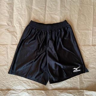 ミズノ(MIZUNO)のMIZUNO サッカー ハーフパンツ 黒 Lサイズ(ウェア)