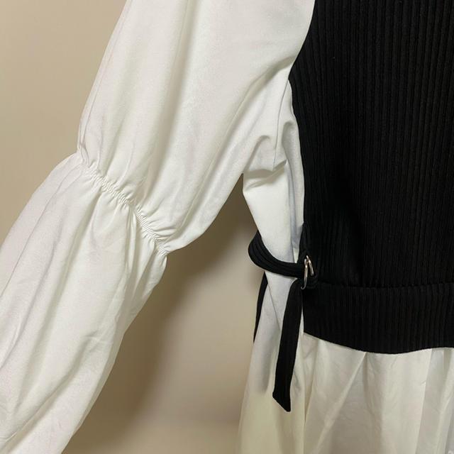 しまむら(シマムラ)のしまむら テレコDカンドッキングプルオーバー レディースのトップス(シャツ/ブラウス(長袖/七分))の商品写真