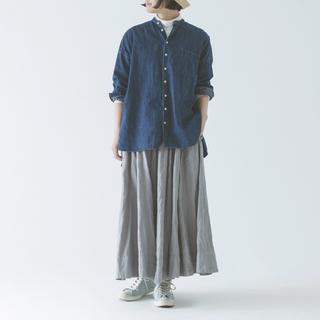 ネストローブ(nest Robe)のnest Robeネストローブ◆リネンギャザースカート2019(ロングスカート)