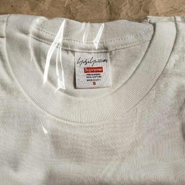 Supreme(シュプリーム)のS ホワイト Supreme Yohji Yamamoto Logo Tee メンズのトップス(Tシャツ/カットソー(半袖/袖なし))の商品写真