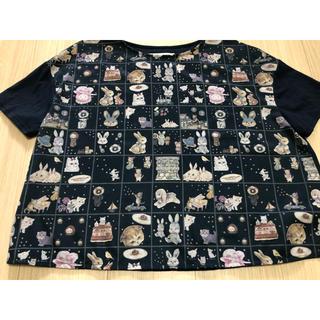 franche lippee - オリプリスカーフTシャツ デコレーションキューブ フランシュリッペ