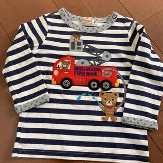 ミキハウス(mikihouse)のミキハウス ロンT 消防車(シャツ/カットソー)