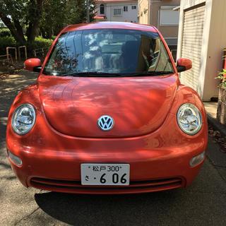 フォルクスワーゲン(Volkswagen)のVW ニュービートル オレンジ(超極上低走行車))(車体)