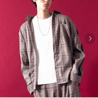 ハレ(HARE)のHerden グレンチェックラインシャツ(シャツ)
