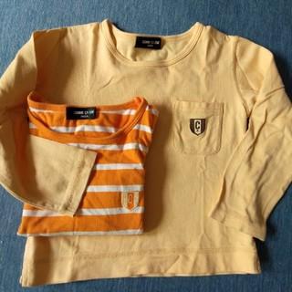 コムサイズム(COMME CA ISM)のCOMME CA ISM☆長袖シャツ2点セット(Tシャツ/カットソー)