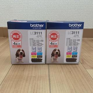 ブラザー(brother)の新品未開封 【純正】インクカートリッジ4色パック LC3111-4PK(PC周辺機器)