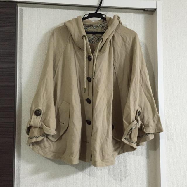 BURBERRY(バーバリー)のバーバリーブルーレーベル ポンチョ レディースのジャケット/アウター(ポンチョ)の商品写真