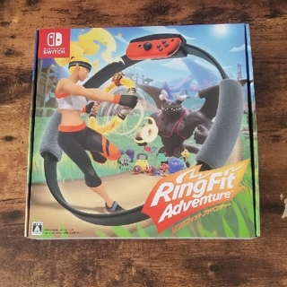 ニンテンドースイッチ(Nintendo Switch)の任天堂スイッチ リングフィットアドベンチャー🎮新品未使用未開封 Switch(家庭用ゲームソフト)
