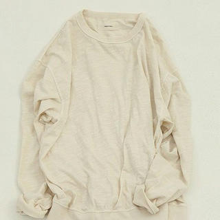 TODAYFUL - Slub Cotton Long T-Shirts