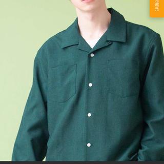 レイジブルー(RAGEBLUE)のMONO-MART オープンカラーシャツ(シャツ)