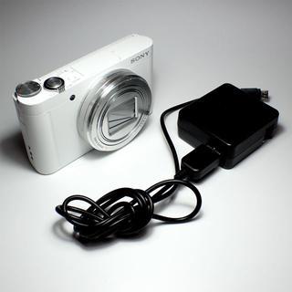 SONY - SONY デジタルカメラ DSC-WX500 ホワイト