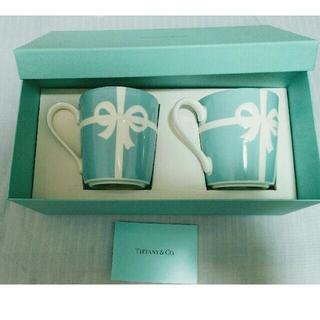 ティファニー(Tiffany & Co.)のティファニー ペアマグカップ(グラス/カップ)