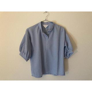 パーリッシィ(PAR ICI)のパフスリーブ トップス ブラウス Tシャツ(シャツ/ブラウス(半袖/袖なし))