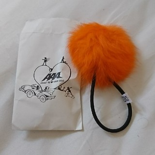 トリプルエー(AAA)のAAA え~ボンボン 橙 オレンジ(ミュージシャン)