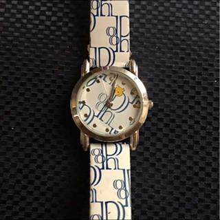 ディズニー(Disney)の腕時計 アナログ プーさん 作動してます。(腕時計)