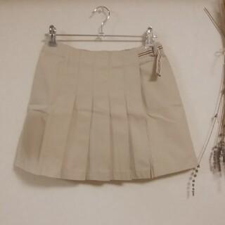 バーバリー(BURBERRY)のBURBERRY♡160スカートベージュ(スカート)