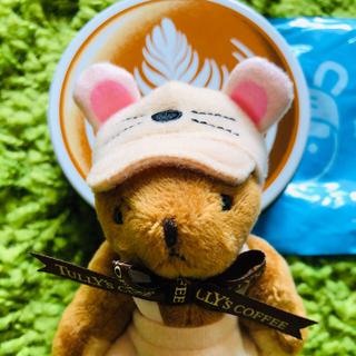タリーズコーヒー(TULLY'S COFFEE)のタリーズ ハッピーバック 2020  ベアフル 干支ミニテディ ねずみ帽子☆空缶(ぬいぐるみ)