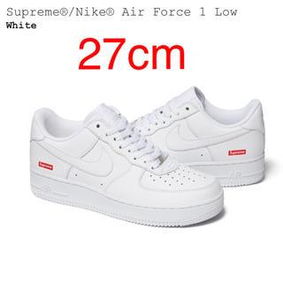 Supreme - Supreme Nike Air Force1 Low 27センチ 白