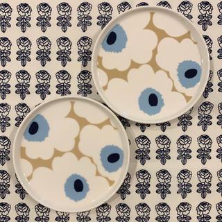 マリメッコ(marimekko)のmarimekko マリメッコ mini UNIKKO プレート2枚(食器)