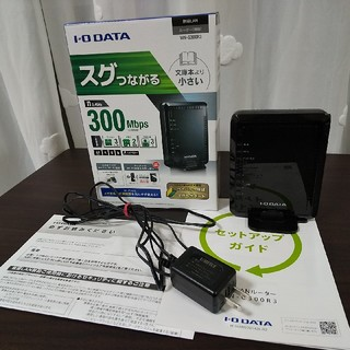 アイオーデータ(IODATA)の動作品 アイ・オー・データ 無線LAN(Wi-Fi)ルーター WN-G300R3(PC周辺機器)