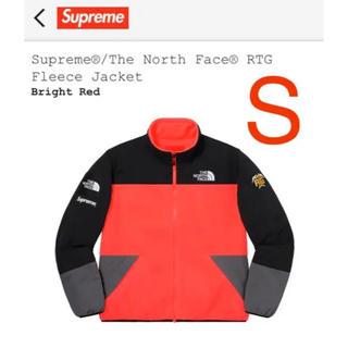 Supreme - supreme north face RTG fleece jaceket S