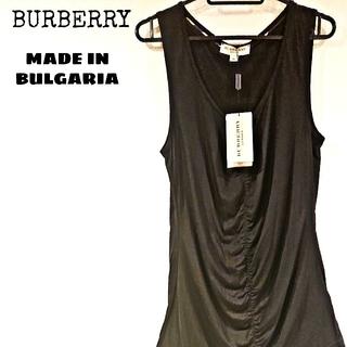 バーバリー(BURBERRY)の新品・タグ付き! BURBERRY バーバリー ノースリーブ タンクトップ (タンクトップ)