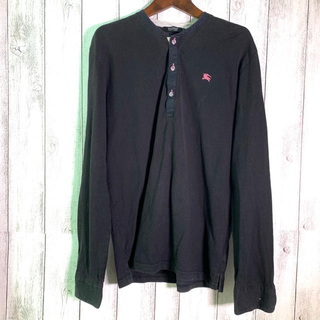 バーバリーブラックレーベル(BURBERRY BLACK LABEL)の バーバリーブラックレーベル シャツ 長袖(Tシャツ/カットソー(七分/長袖))