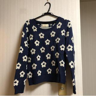 w closet - w closet 花柄 セーター