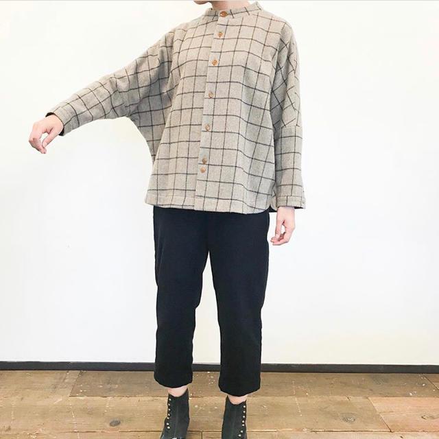 パラスパレス ドルマン 肩落ち セーター ブラウス ニット レディースのトップス(ニット/セーター)の商品写真