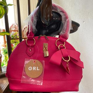 グレイル(GRL)の【新品未使用】2way リボン付きハンド&ショルダーバッグ 【yt04】(ハンドバッグ)