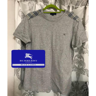 BURBERRY BLUE LABEL - 美品♡ Burberry blue label  バーバリーブルーレーベル T