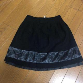 ef-de - ef-de  スカート サイズ7 カラー ブラック 素材 ウール