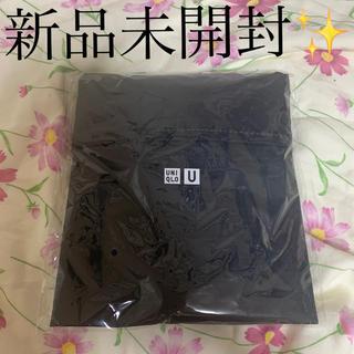 ユニクロ(UNIQLO)の新品未使用未開封UNIQLOユニクロ黒ノベルティ エコバッグ バッグ(エコバッグ)
