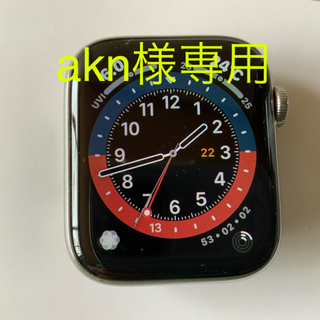 Apple Watch 4 44mm SS cellular 美品