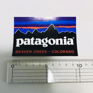 パタゴニア(patagonia)の【正規品】patagonia パタゴニア ステッカー コロラド 新品未使用(登山用品)