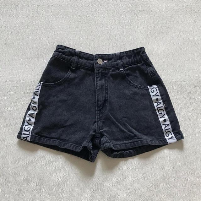 lovetoxic(ラブトキシック)のALGY ショートデニムパンツ キッズ/ベビー/マタニティのキッズ服女の子用(90cm~)(パンツ/スパッツ)の商品写真
