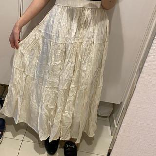 シフォンスカート(ロングスカート)