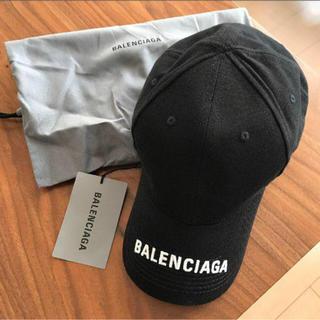 Balenciaga - BALENCIAGA BASE BALL CAP 白ロゴ