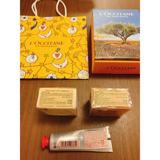 ロクシタン(L'OCCITANE)のロクシタンギフトセット(化粧石鹸2個 ハンドクリーム1本)(その他)