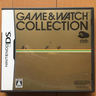 ニンテンドーDS(ニンテンドーDS)のGAME&WATCH COLLECTION  非売品 DSソフト(携帯用ゲームソフト)