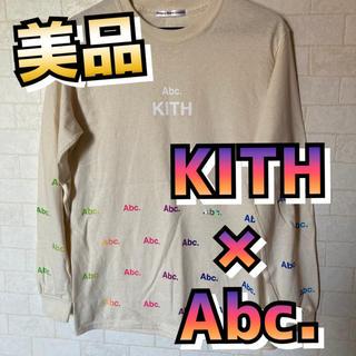 シュプリーム(Supreme)の【レア】kith × abc. L/S Tシャツ オフホワイトカラー(Tシャツ/カットソー(七分/長袖))
