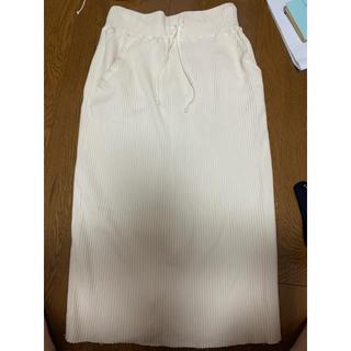 ローリーズファーム(LOWRYS FARM)のローリーズファーム リブニットスカート(ロングスカート)