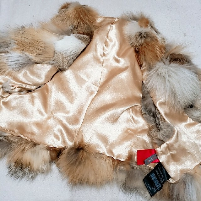 DOUBLE STANDARD CLOTHING(ダブルスタンダードクロージング)のsmokベストUN3D.グレースコンチネンタルZARAダブルスタンダードNINE レディースのジャケット/アウター(毛皮/ファーコート)の商品写真